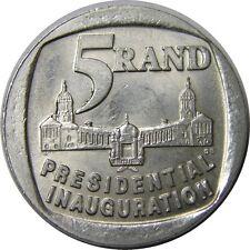 elf South Africa 5 Rand 1994 Mandella Presidential Inauguration