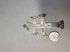 indian trade silver masonic cross sterling mason cross square compass