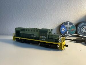 Ho Scale British Columbia/ BCR BC Rail Rs-18 602 DCC Eqquiped custom Painted