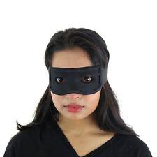 Black Zorro Style Superhero Costume Mask For Halloween / Party / Masquerade Ball