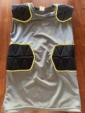 Champro Sports Dri-Gear Youth Boys M Football Gray Protective Compression Shirt