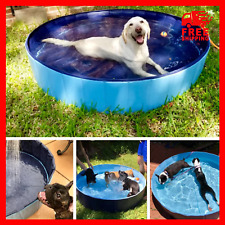 New Portable Swimming Pools Outdoor Indoor for Dogs Cats Pet Kids Foldable Pool