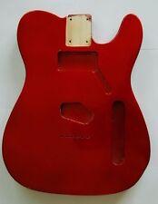 Eden Standard Series Paulownia Body for Telecaster Guitar Metallic Red