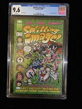 1993 Splitting Image! #1, Image Comics, CGC 9.6 White Pages, 3/93, 7001