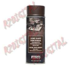 VERNICE ARMI FOSCO SPRAY 400ML MUD BROWN RAL PER PISTOLA FUCILE PLASTICA GOMME