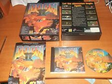 DOOM II 2   ID SOFTWARE  - ORIGINAL BIG BOX VERSION.  PC-CD  V.G.C.