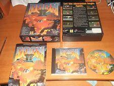 DOOM II 2   ID SOFTWARE  - ORIGINAL BIG BOX VERSION.  PC-CD  V.G.C.