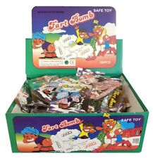 72 FART BOMB BAGS WITH RETAIL DISPLAY BOX - STINK BOMBS WHOLESALE -FREE SHIPPING