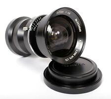 Komura Super-W-Komura 75mm F6.3 Lens in Prontor Press (Japanese Biogon for 4X5)