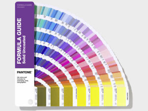 PANTONE Formula Guide Solid Uncoated - shows 2161 colours. New. Latest version.