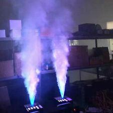 24 LED 1500W Nebelmaschine Wireless Remote DJ Party DMX Vertikale Nebelmaschine