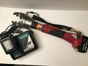 Burndy 18V PATMD-LI Actuated Crimp Tool With Makita 18V Battery & Charger