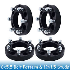 """1.25"""" Toyota 6 Lug Hubcentric Wheel Spacers 6x5.5 6x139.7 Fits 4-Runner 96 - 17"""
