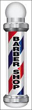 2x8 Ft Barber Shop Vinyl Banner Sign New Vertical Bar
