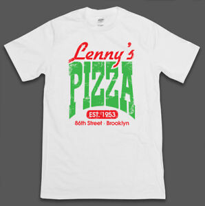 Saturday Night Fever T-Shirt 'Lennys Pizza' - Tee Film Movie 70s Dance Disco