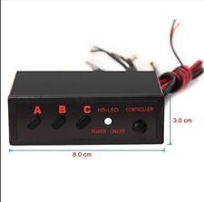 3 Mode Auto LED Emergency Strobe Light / Lightbar Control Box Controller 12W 1A