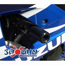 Suzuki 2004-2005 GSXR600 GSXR-600 Shogun Frame Sliders NO CUT Version Black