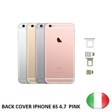 BACK COVER MIDDLE TELAIO POSTERIORE COMPLETO PER IPHONE 6S 4.7  PINK SCOCCA