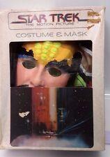 Vintage Star Trek:TMP Klingon Ben Cooper Costume & Mask- FREE S&H (SRP-201)