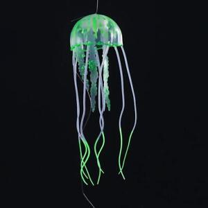 Glowing Effect Aquarium Floating Jelly Fish Tank Ornament Decoration