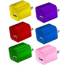 USB Wall Charger, 6-Pack Universal 5V/1A Mini Portable Travel Adapter High Sp...