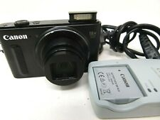 Canon PowerShot SX610 HS 20.2MP Digital Camera - Black-Used