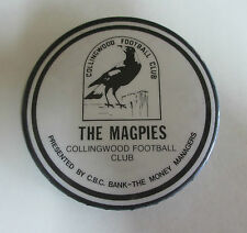 Collingwood Football Club Badge - The Magpies - CBC Bank - 1970s
