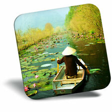 Awesome Fridge Magnet - Beautiful Hanoi Vietnam River Boat Asia Cool Gift #16643