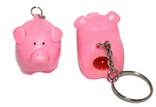 Pooping Pig Keychain Naughty Piggy