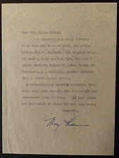 Vintage Movie Star Mary Philbin Autographed Typed Letter