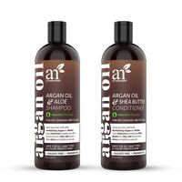Natural Argan Oil Shampoo & Conditioner Collection - for All Hair Types - 16 oz