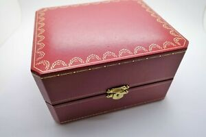 Cartier watch box genuine