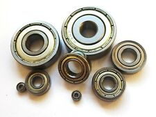 600 - 699 zz HIGH PERFORMANCE STAINLESS STEEL SHIELDED MINIATURE BEARINGS RC