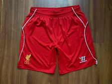 LIVERPOOL FOOTBALL SHORTS RED ORIGINAL SIZE M