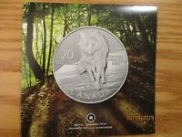 2013 Canada Canadian $20 Dollars SILVER Coin In Presentation Folder SUPER RARE!