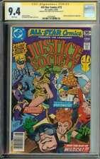 All-Star Comics #73 SS CGC 9.4 x2 Auto Levitz Staton Signed Early Huntress