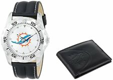 NEW IN BOX Game Time NFL-WWS-MIA Sports NFL Men's Watch and Wallet