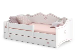 NEU Kinderbett Jugendbett mit Matratze Lattenrost Schublade 160x80 - EHWMarket
