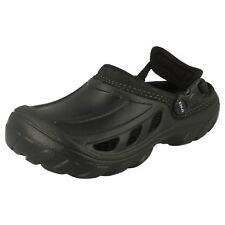uomo coccodrillo Clog sandali nero / Nero - crostrail uomo - m4uk3/w6uk4