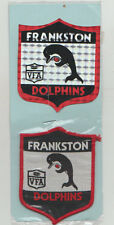 VFA  FRANKSTON / DOLPHINS   PATCH/BADGE PLUS STICK ON OF THE SAME SIZE 9mm x 7mm