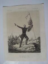 «Exmo. D. Juan Prim, conde de Reus 1860 litografia por E. Varela