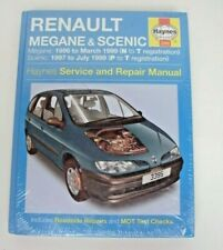 Renault Megan & Scenic Haynes Workshop Manual 3395 *FREE UK COURIER*