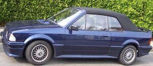 Ford Escort Cabrio Capot PVC (plus doux Qualité) noir avec Directives ALF