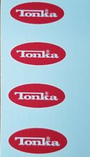 TONKA TRUCK OVAL LOGO DECAL 1976-1977