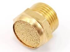 "3/8"" Low Profile Pneumatic Muffler Filter Silencer Sintered Male Thread Threaded"