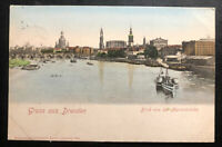 1911 Oliva Danzig Germany Greeting picture Postcard Cover To Łódź Poland Russia