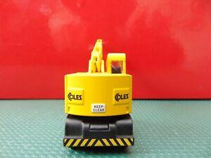 'OO' Corgi Trackside Coles Mobile Crane, yellow.
