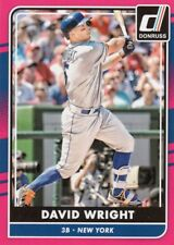 2016 Donruss DAVID WRIGHT Retail Pink Border Parallel #170 Mets