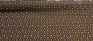 50 Yard roll Mercedes Brown Damask Fabric Chenille upholstery sofa couch pillows