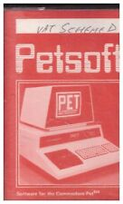 VAT Scheme D for Commodore PET from Petsoft